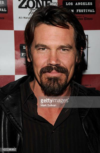 """Actor Josh Brolin arrives at the premiere of """"The Tillman Story"""" during the 2010 Los Angeles Film Festival at Regal Cinemas at LA Live Downtown on..."""