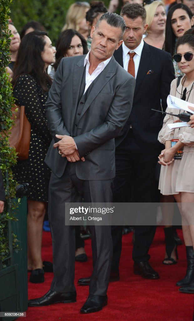 Actor Josh Brolin arrives for the Premiere Of Columbia Pictures' 'Only The Brave' held at Regency Village Theatre on October 8, 2017 in Westwood, California.