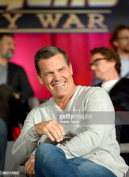 Actor Josh Brolin at the Avengers Infinity War Press Junket in Los Angeles CA April 22nd 2018