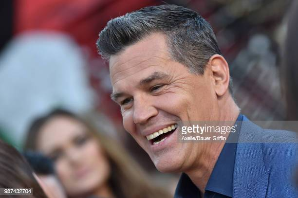 Actor Josh Brolin attends Columbia Pictures' 'Sicario Day of the Soldado' Premiere at Regency Village Theatre on June 26 2018 in Westwood California