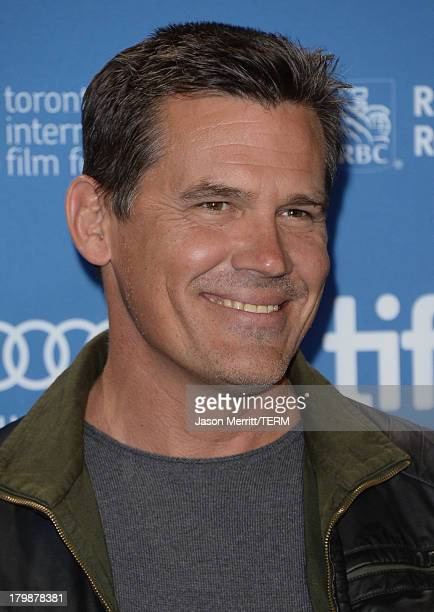 Actor Josh Brolin attends 'Labor Day' Press Conference during the 2013 Toronto International Film Festival at TIFF Bell Lightbox on September 7 2013...