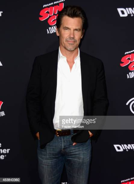 Actor Josh Brolin attends Premiere of Dimension Films' Sin City A Dame To Kill For at TCL Chinese Theatre on August 19 2014 in Hollywood California