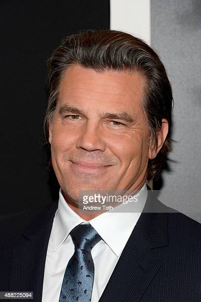 Actor Josh Brolin attends 'Sicario' New York Premiere at Museum of Modern Art on September 14 2015 in New York City