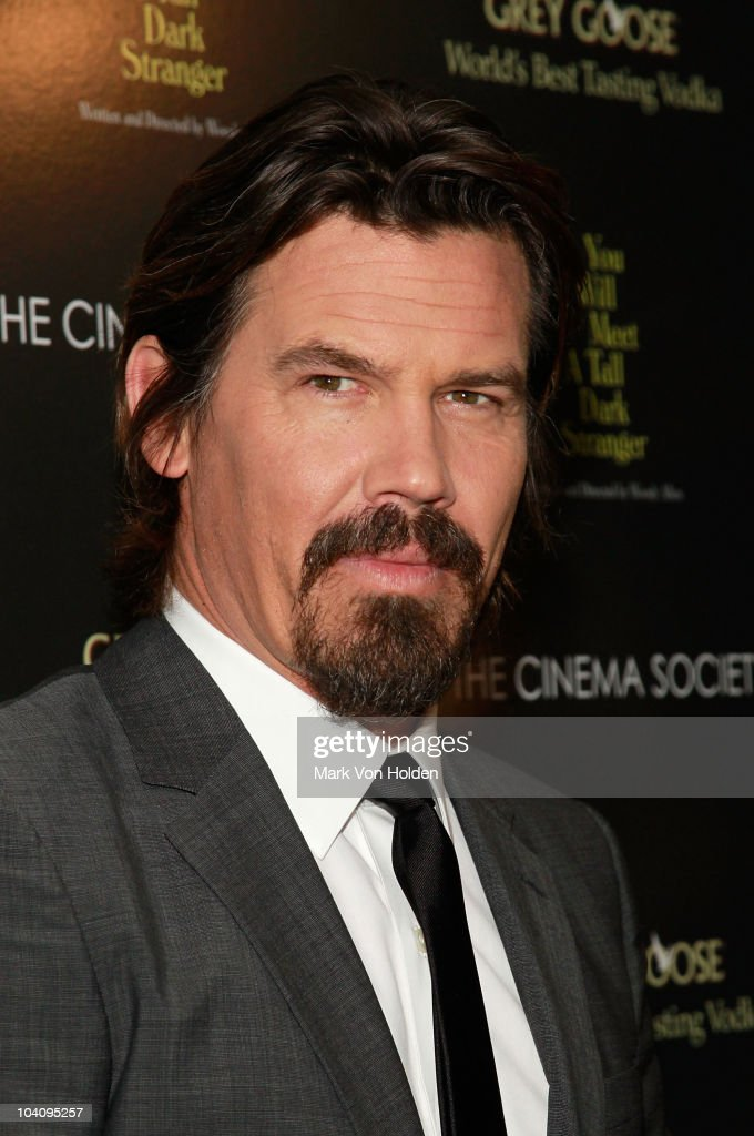 Actor Josh Brolin attends the Cinema Society and BlackBerry Torch screening of 'You Will Meet a Tall Dark Stranger' at MOMA on September 14, 2010 in New York City.
