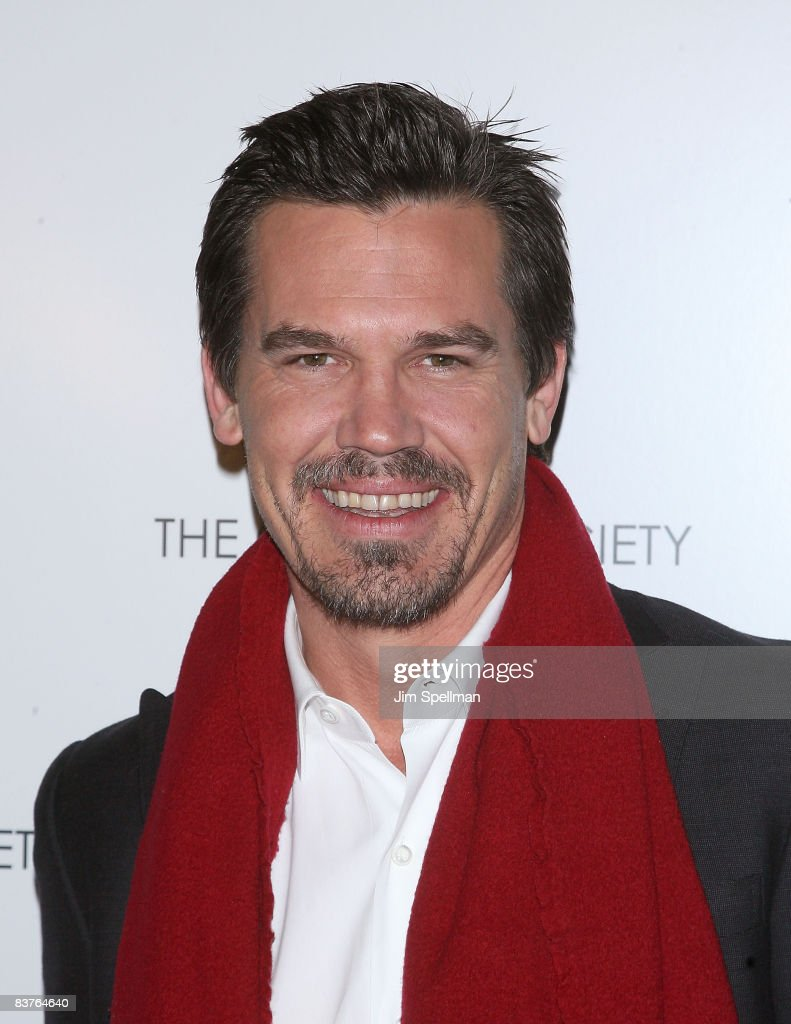 Actor Josh Brolin attends the Cinema Society and Details screening of 'Milk' at the Landmark Sunshine Theater on November 18, 2008 in New York City.