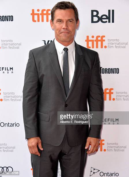 Actor Josh Brolin attends the Labor Day premiere during the 2013 Toronto International Film Festival at Ryerson Theatre on September 7 2013 in...