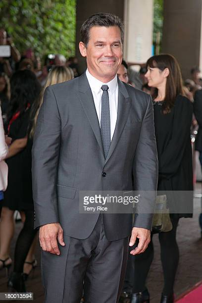 Actor Josh Brolin attends the 'Labor Day' premiere during the 2013 Toronto International Film Festival at Ryerson Theatre on September 7 2013 in...