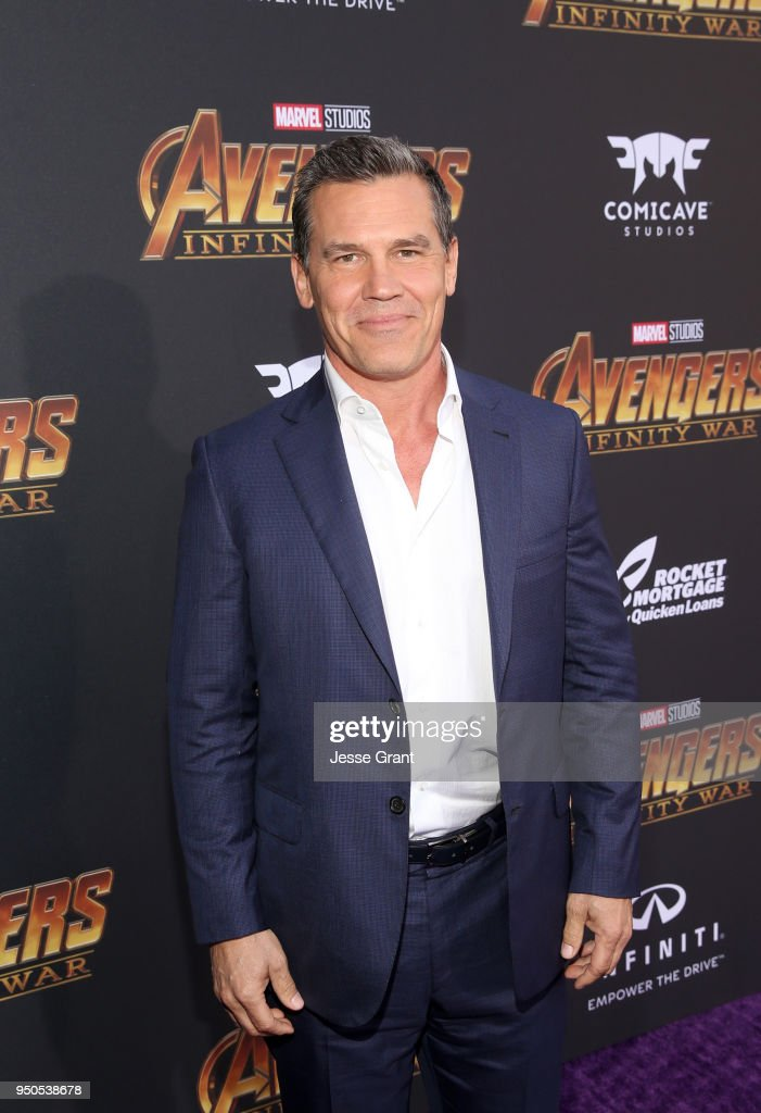 Actor Josh Brolin attends the Los Angeles Global Premiere for Marvel Studios' Avengers: Infinity War on April 23, 2018 in Hollywood, California.