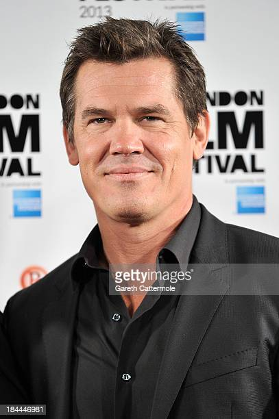 Actor Josh Brolin attends the photocall for 'Labor Day' during the 57th BFI London Film Festival at The Mayfair Hotel on October 14 2013 in London...