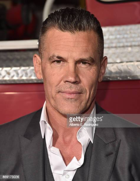 Actor Josh Brolin attends the premiere of Columbia Pictures' 'Only The Brave' at the Regency Village Theatre on October 8 2017 in Westwood California