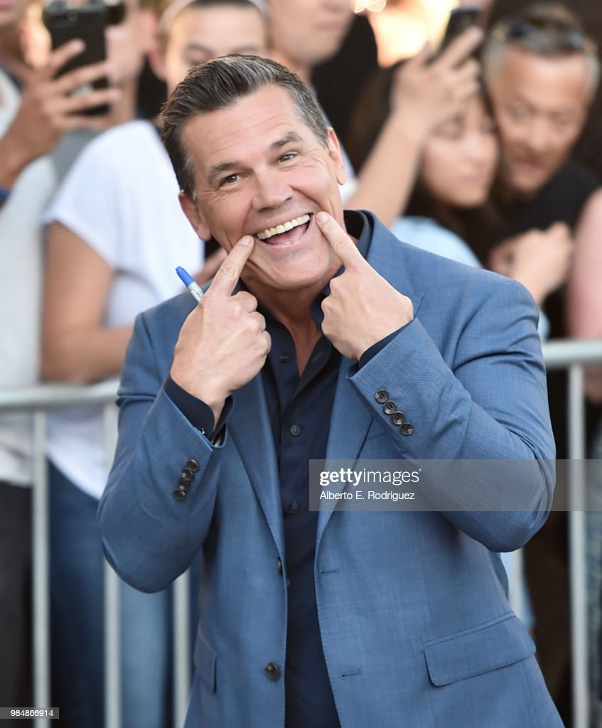 Actor Josh Brolin attends the premiere of Columbia Pictures' 'Sicario: Day Of The Soldado' at Regency Village Theatre on June 26, 2018 in Westwood, California.