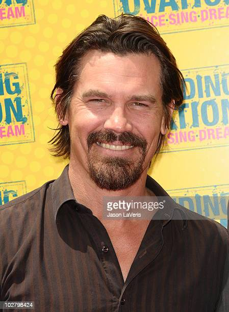 """Actor Josh Brolin attends the premiere of """"Standing Ovation"""" at Universal CityWalk on July 10, 2010 in Universal City, California."""
