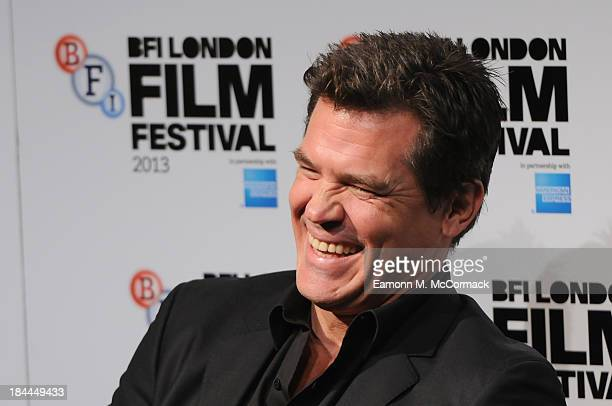 Actor Josh Brolin attends the press conference for 'Labor Day' during the 57th BFI London Film Festival at The Mayfair Hotel on October 14 2013 in...
