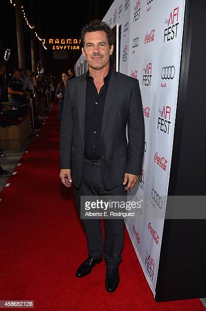 Actor Josh Brolin attends the screening of 'Inherent Vice' during AFI FEST 2014 presented by Audi at the Egyptian Theatre on November 8 2014 in...