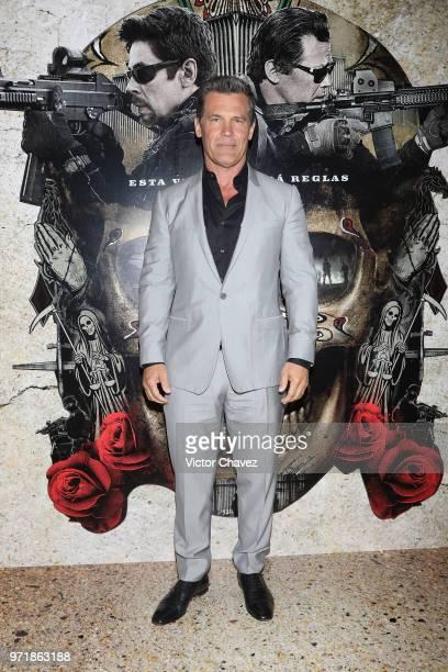 Actor Josh Brolin attends the Sicario Day of the Soldado Mexico City premier at Antara Polanco on June 11 2018 in Mexico City Mexico