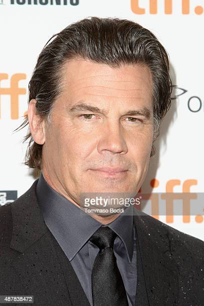Actor Josh Brolin attends the Sicario premiere during the 2015 Toronto International Film Festival at Princess of Wales Theatre on September 11 2015...