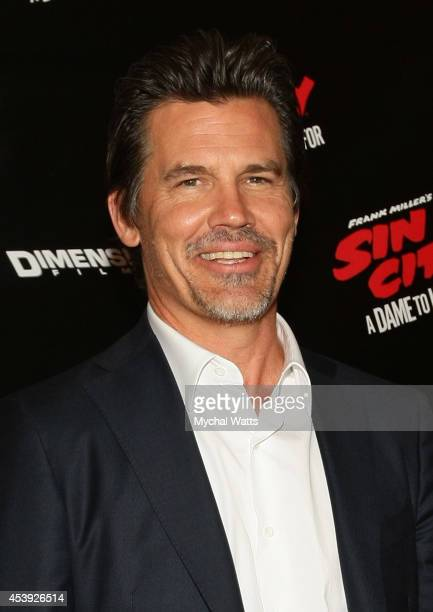 Actor Josh Brolin attends the 'Sin City A Dame To Kill For' photo call at Crosby Street Hotel on August 21 2014 in New York City