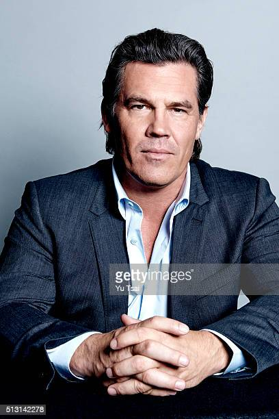 Actor Josh Brolin is photographed at the Toronto Film Festival for Variety on September 12 2015 in Toronto Ontario