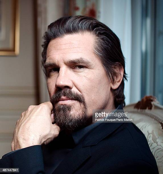 Actor Josh Brolin is photographed for Paris Match at the Hotel Georges V in Paris France on May 11 2012