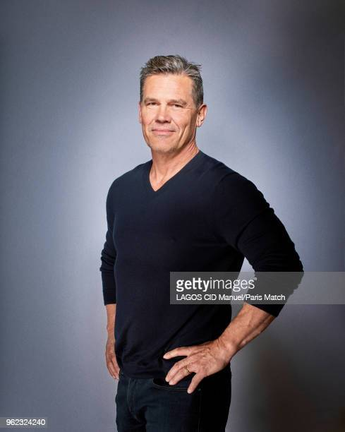 Actor Josh Brolin is photographed for Paris Match in Paris on May 04 2018