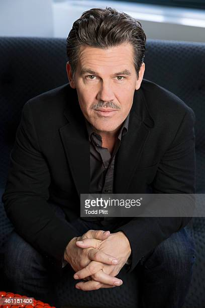 Actor Josh Brolin is photographed for USA Today on December 19 2014 in New York City