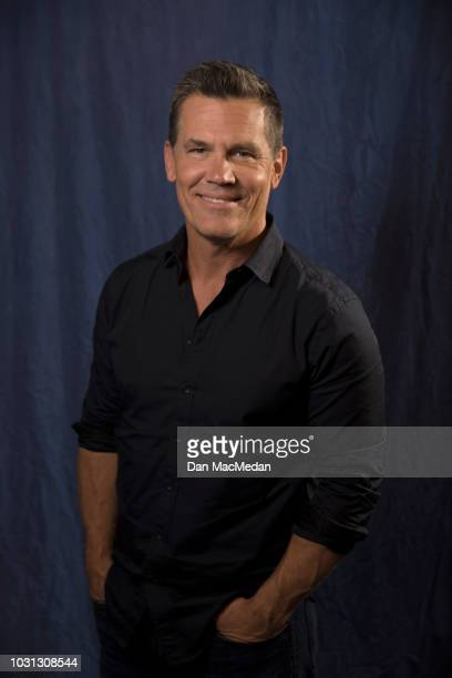 Actor Josh Brolin is photographed for USA Today on June 15 2018 in Los Angeles California