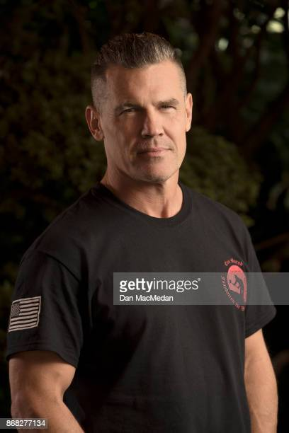 Actor Josh Brolin is photographed for USA Today on October 8 2017 in Los Angeles California PUBLISHED IMAGE