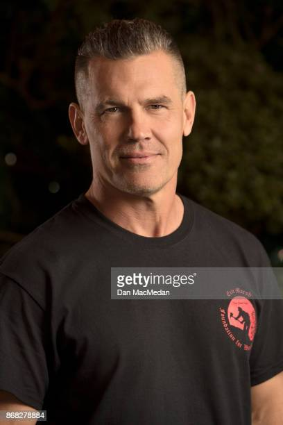 Actor Josh Brolin is photographed for USA Today on October 8 2017 in Los Angeles California