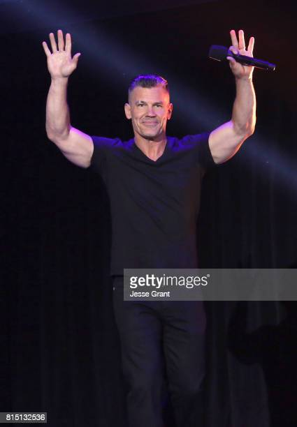 Actor Josh Brolin of AVENGERS INFINITY WAR took part today in the Walt Disney Studios live action presentation at Disney's D23 EXPO 2017 in Anaheim...