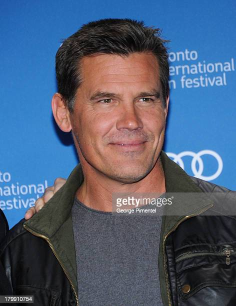 Actor Josh Brolin poses at the 'Labor Day' Press Conference during the 2013 Toronto International Film Festival at TIFF Bell Lightbox on September 7...