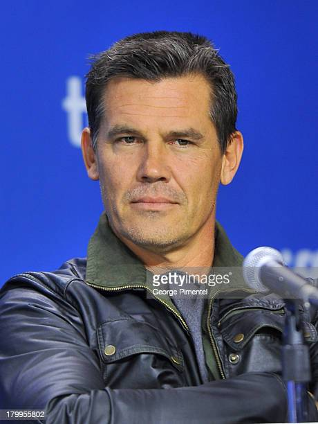 Actor Josh Brolin speaks onstage at the 'Labor Day' Press Conference during the 2013 Toronto International Film Festival at TIFF Bell Lightbox on...