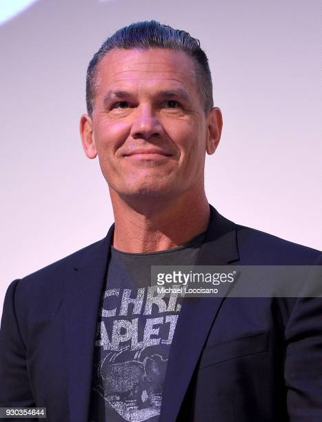 Actor Josh Brolin takes part in a QA following the 'The Legacy of a Whitetail Deer Hunter ' premiere during the 2018 SXSW Conference and Festivals at...