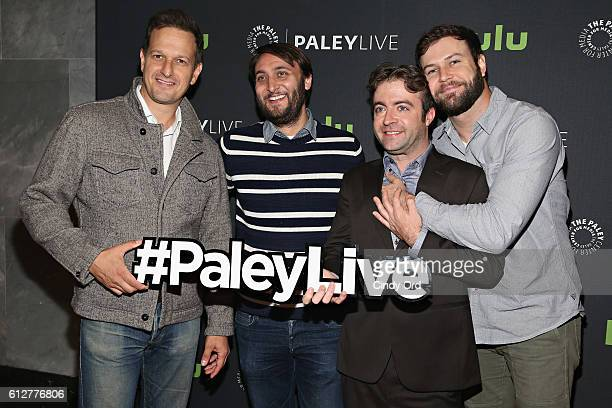 Actor Josh Charles producer/ cocreator of the Comedy Central series 'Drunk History' Jeremy Konner actor/ cocreator of the Comedy Central series...