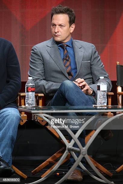 Actor Josh Charles speaks onstage during the 'Masters of Sex' panel discussion at the Showtime portion of the 2015 Summer TCA Tour at The Beverly...