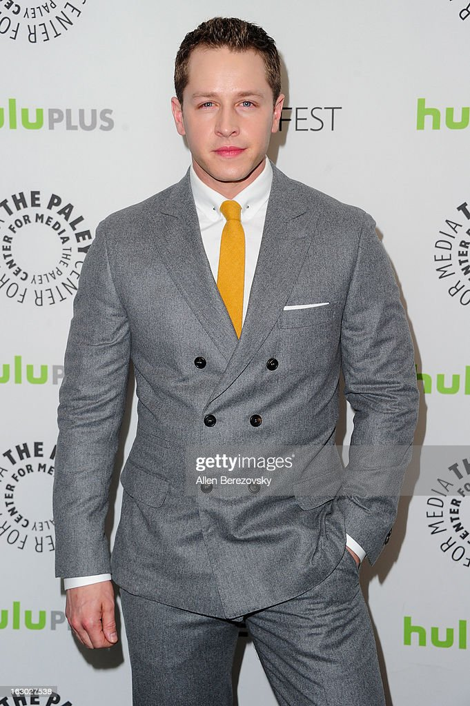 Actor Josh Dallas arrives at the 30th Annual PaleyFest: The William S. Paley Television Festival featuring 'Once Upon A Time' at Saban Theatre on March 3, 2013 in Beverly Hills, California.