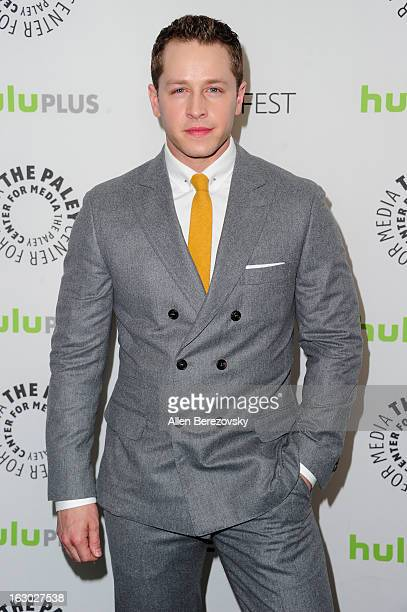 Actor Josh Dallas arrives at the 30th Annual PaleyFest The William S Paley Television Festival featuring 'Once Upon A Time' at Saban Theatre on March...