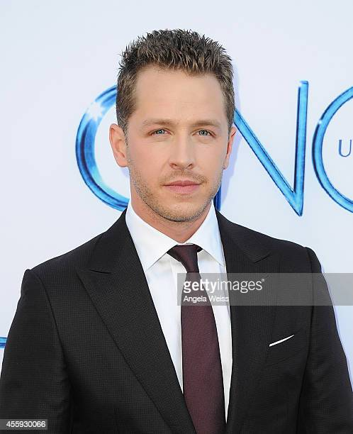 """Actor Josh Dallas attends ABC's """"Once Upon A Time"""" Season 4 red carpet premiere at the El Capitan Theatre on September 21, 2014 in Hollywood,..."""