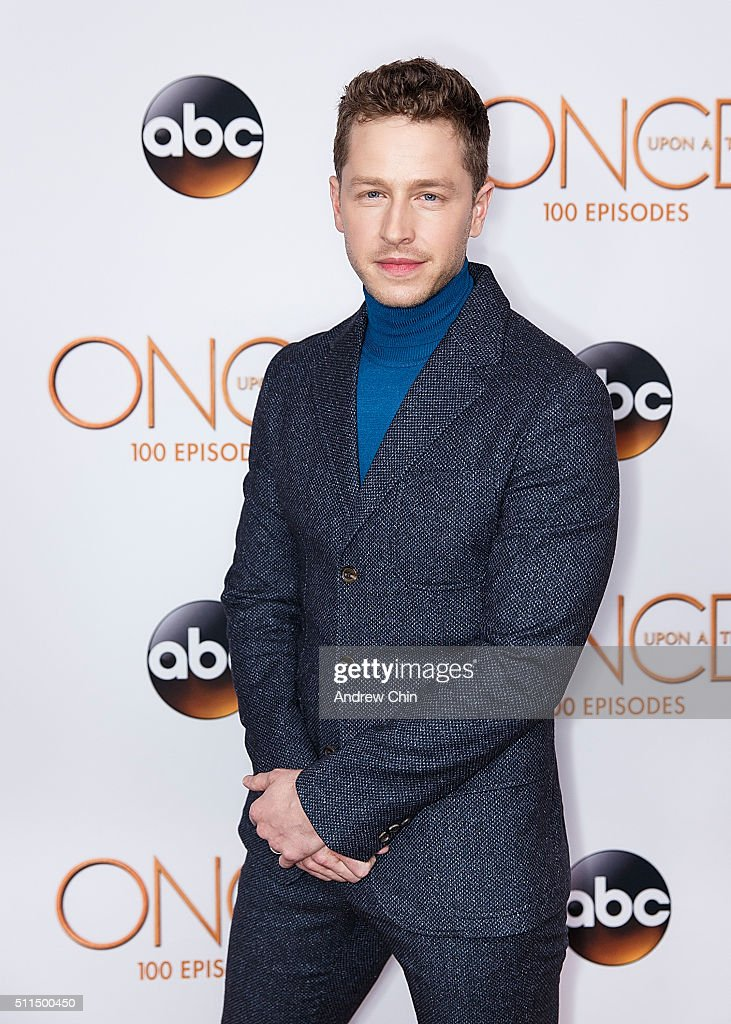 Actor Josh Dallas attends the 100th episode celebration of 'Once Upon A Time' at Storybrooke Cannery on February 20, 2016 in Vancouver, Canada.