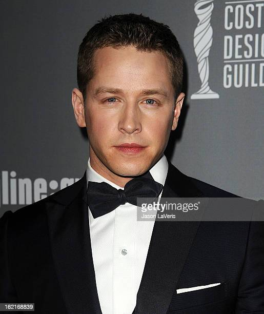 Actor Josh Dallas attends the 15th annual Costume Designers Guild Awards at The Beverly Hilton Hotel on February 19 2013 in Beverly Hills California