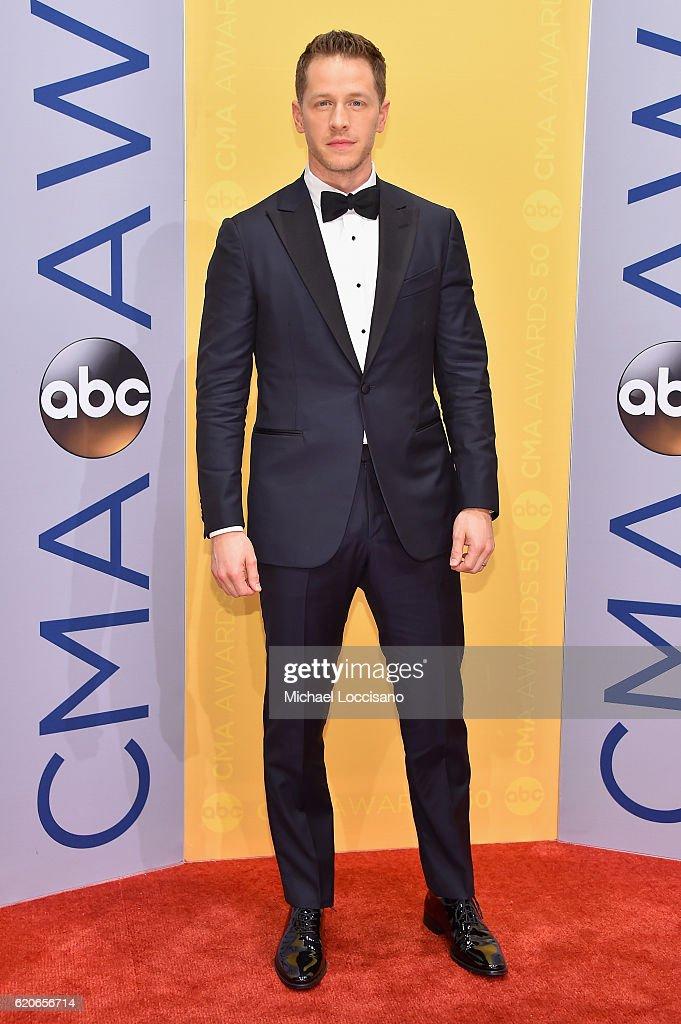 Actor Josh Dallas attends the 50th annual CMA Awards at the Bridgestone Arena on November 2, 2016 in Nashville, Tennessee.