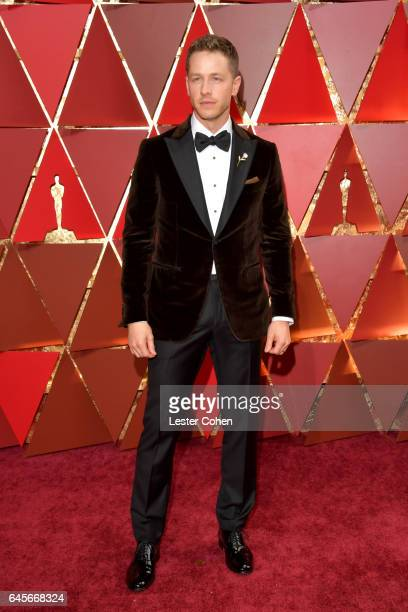 Actor Josh Dallas attends the 89th Annual Academy Awards at Hollywood Highland Center on February 26 2017 in Hollywood California