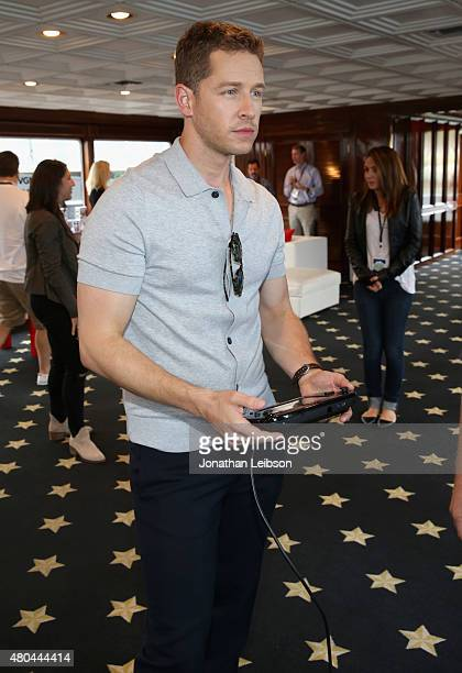 Actor Josh Dallas attends The Nintendo Lounge on the TV Guide Magazine yacht during ComicCon International 2015 on July 11 2015 in San Diego...