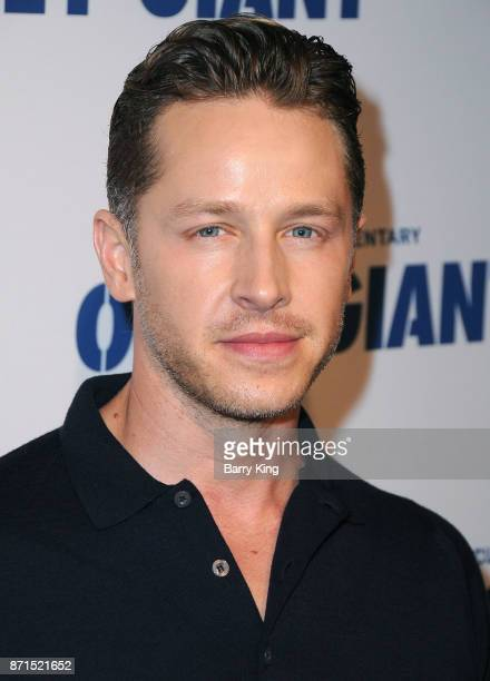 Actor Josh Dallas attends the photo op for Hulu's 'Obey Giant' at The Theatre at Ace Hotel on November 7 2017 in Los Angeles California
