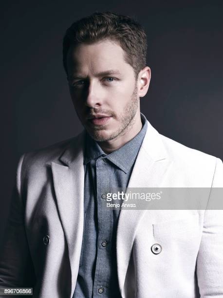 Actor Josh Dallas is photographed for The Fashionisto on October 15 2014 in Los Angeles California