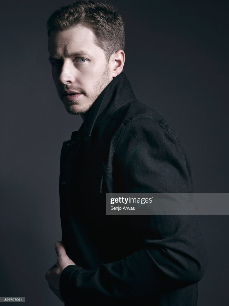 Actor Josh Dallas is photographed for The Fashionisto on October 15, 2014 in Los Angeles, California.