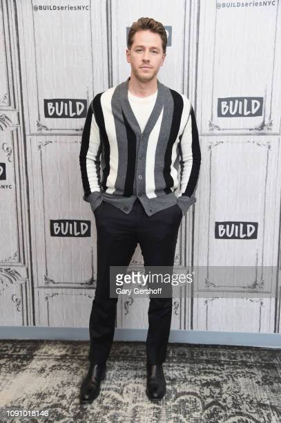 Actor Josh Dallas visits Build Series to discuss the NBC drama seris 'Manifest' at Build Studio on January 07 2019 in New York City