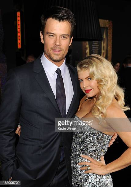 Actor Josh Duhamel and actress/singer Fergie arrive at the premiere of Warner Bros Pictures' 'New Year's Eve' at Grauman's Chinese Theatre on...