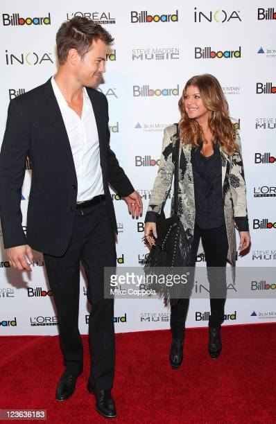 Actor Josh Duhamel and singer Fergie attend Billboard's 5th Annual Women In Music awards at The Pierre Hotel on December 2 2010 in New York City