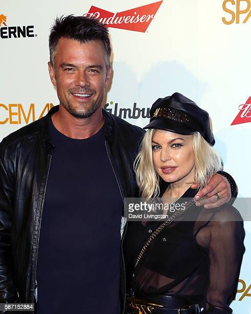 Actor Josh Duhamel and wife singer Fergie attend the premiere of Orion Pictures' Spaceman at The London Hotel on August 7 2016 in West Hollywood...
