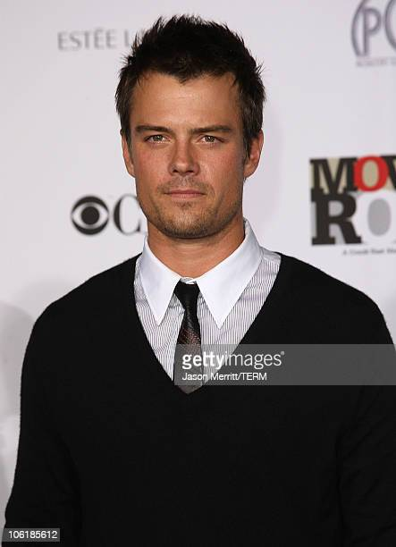 Actor Josh Duhamel arrives at Conde Nast Media Group's 2007 Movies Rock at the Kodak Theatre on December 2 2007 in Hollywood California